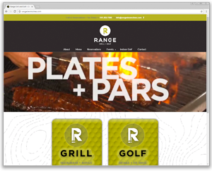 restaurant website design des moines